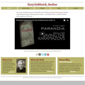 Gary Goldstick, Author